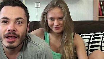 Российская любительская пара из Питера