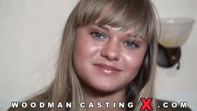 Nestee Shy (Бакеева) на кастинге Woodman casting X