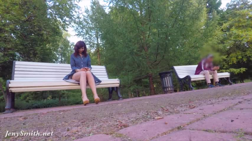 Нудизм в парке