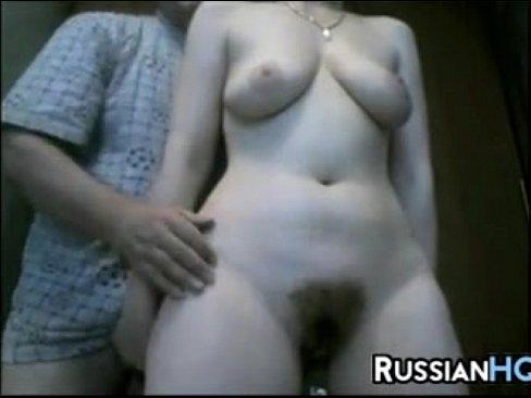 Волосатая россиянка