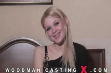 Freshblonde (Лиза) на кастинге Вудмана