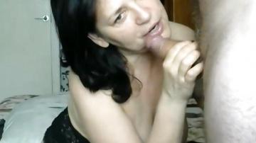 Зрелая русская пара с оральным сексом