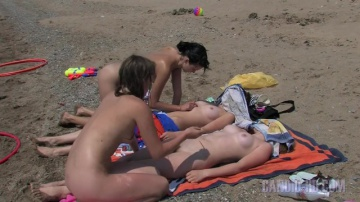 Празднование сводных сестер на пляже и яхте (Полная версия)