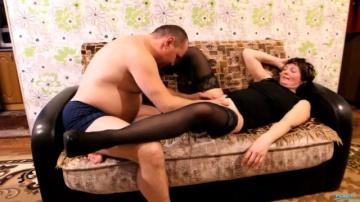Русская мама и папа в домашнем видео