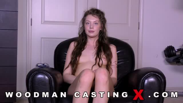 Elena Koshka на Woodman casting X