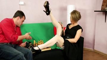 Русская Lady ебля: Зрелые HD порно видео 49