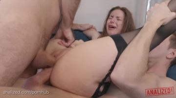 Большие Естественные буфера порно звезда Stella Cox Грубый анал