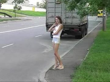Только русские придорожные девки