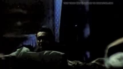 Елена Борзова в фильме Лес (1983) под дождем