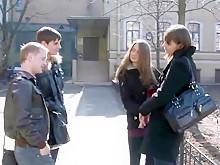 Невероятная домашняя русская, групповуха секс-клип