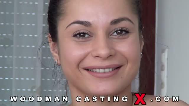 Девушка Анна (Aurelly Rebell) С России на кастинге Woodman casting X