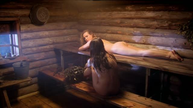 Анна Снаткина.Анна Горшкова в бане